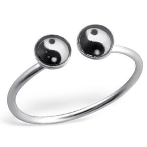 Charm School UK > Sterling Silver Jewellery > Silver Toe Rings > 0 Design